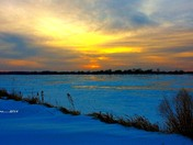 tonights sunset