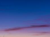 Crescent Moon over the Jemez