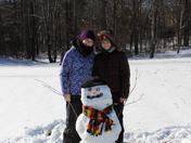 Makenzie & Mckinley's Snowman