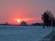 Southwestern Ontario sunset