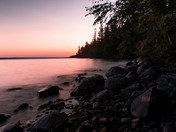 Sunset over Waskesiu