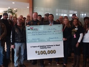 Northwest Hospital Has Over 100,000 Reasons to Thank MCVcares!