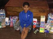 Caydon Anderson 9 years old, Grove Valley Elementary