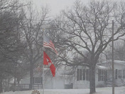Snow Storm in Unadilla Nebraska 1/22/18