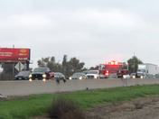 Accident South Bound 5 near Stockton crosstown