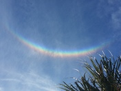 Sundogs and circumzenithal arc