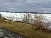 Ice jam at Long Level