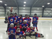 East Coast Leafs Mites Patriots wake up call