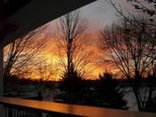 Peeking at Sunrise