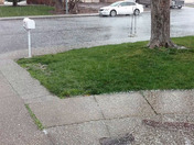 This just happened in Vacaville. Hail.