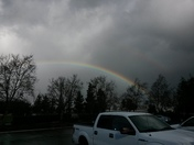 Rainbow in Ripon