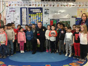 Farley Elementary School - Hudson, MA Wake-Up Call with Captain McCormick