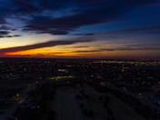 Tonight's sunset in Moore Ok