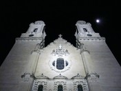 St. Cecilia's Cathedral & Moon