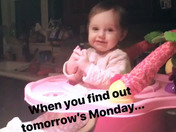 Bring on Monday
