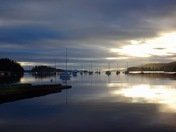 Sunrise on Salt Spring