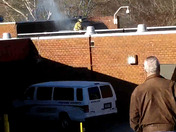 Fire at Pickens County jail.