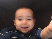 Julian Tobias Romero, 1st Birthday, February 2, 2018