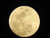 Blue Moon over Boynton Beach.