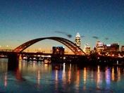 Caught a beautiful sunset tonight..