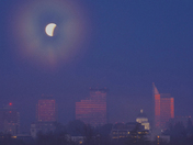 Eclipse Over Sacramento