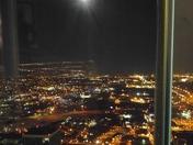 2018 Super Blue Blood Moon over Downtown OKC.