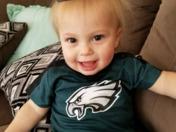 My beautiful grandson Carson