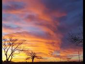 Holdenville OK sunset