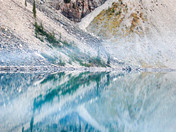 Lake Moraine Reflection