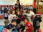 Patriots smallest and cutest fans