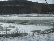 Ice on the Allegheny
