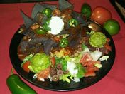 Ultimate Super bowl food! The Volcano Nachos
