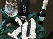 Fly Eagles Fly!  Getting ready to watch the Eagles win the Superbowl!