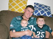 Fly Eagle Fly!  Family of Eagles Fans!