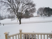 Snow in West Bend