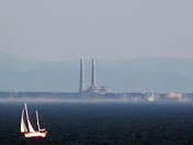 View of Moss Landing from Santa Cruz
