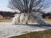 Aerobic water sprinkler