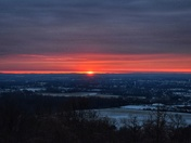 Sunrise over York County