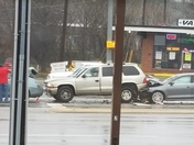 Accident at 3255 Wade Hapton