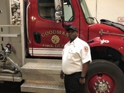 Firefighter Elijah Brooks