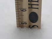 From Jeff from Bristol wi snow amount from last night and today