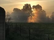 Sunrise in Elverta, Ca