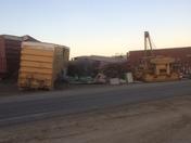 Train derailment and Hughson California