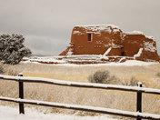 Snowy Morning in Pecos 2