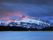 Banff Sunrise Mount Rundle