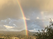 Double Rainbow over Butte Mountain...