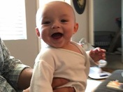 Our Happy Baby Boy