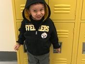 Donavan first day of school