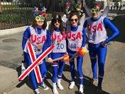 Winter Olympics Mardi Gras style