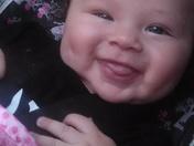Sophia loves to smile!
